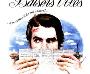 Affiche du film Baisers volés de François Truffaut