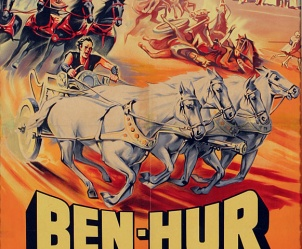 Affiche de Ben-Hur de William Wyler