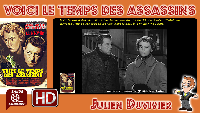 Voici le temps des assassins de Julien Duvivier (1956)