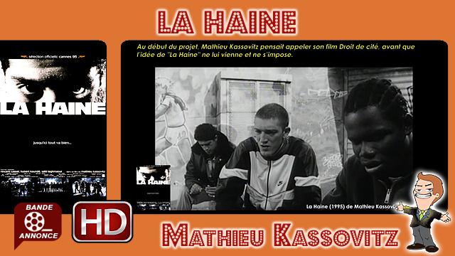 La Haine de Mathieu Kassovitz (1995)