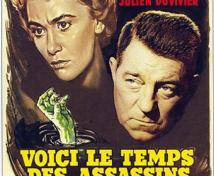 Affiche du film Voici le temps des assassins de Julien Duvivier