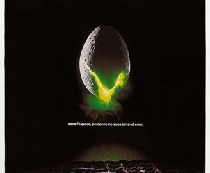 Affiche du film Alien, le huitième passager de Ridley Scott (1979)