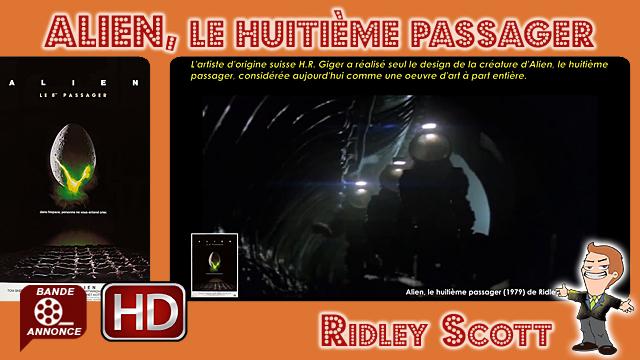 Alien, le huitième passager de Ridley Scott (1979)