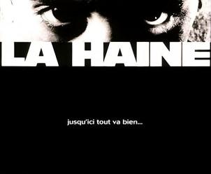 Affiche du film La Haine de Mathieu Kassovitz