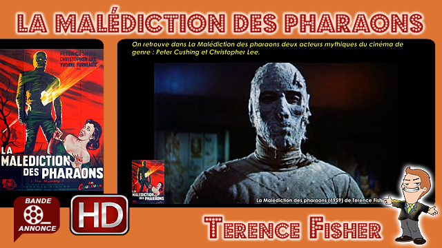 La Malédiction des pharaons de Terence Fisher (1959)