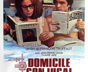 Affiche du film Domicile conjugal de François Truffaut