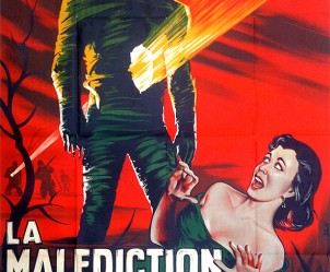Aaffiche du film La Malédiction des pharaons de Terence Fisher