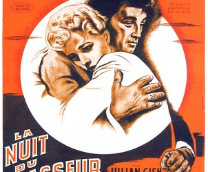 Affiche du film La Nuit du chasseur de Charles Laughton