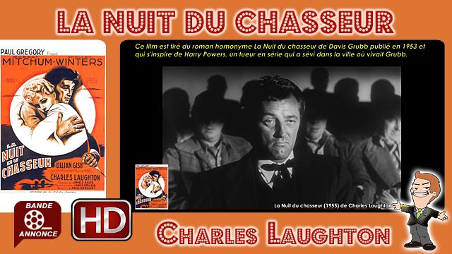 La Nuit du chasseur de Charles Laughton (1955)