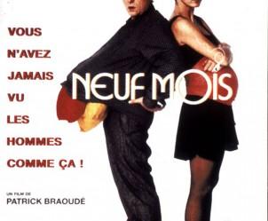 Affiche du film Neuf mois de Patrick Braoudé