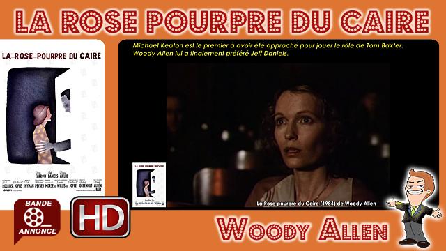 La Rose pourpre du Caire de Woody Allen (1984)