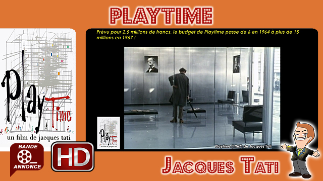 Playtime de Jacques Tati (1967)