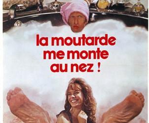 Affiche du film La Moutarde me monte au nez de Claude Zidi