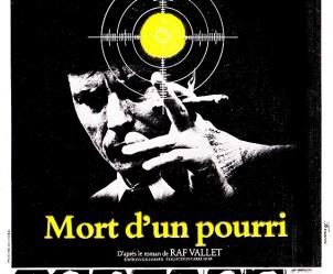 Affiche du film Mort d'un pourri de Georges Lautner