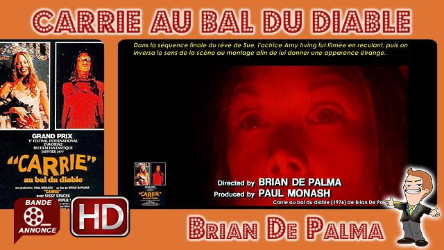 Carrie au bal du diable de Brian De Palma (1976)