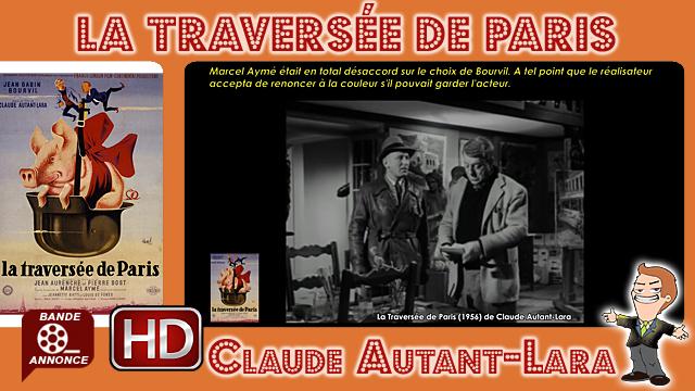 La Traversée de Paris de Claude Autant-Lara (1956)