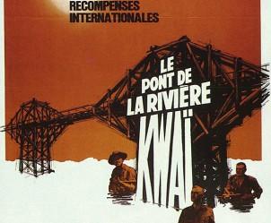 Affiche du film Le Pont de la rivière Kwaï de David Lean