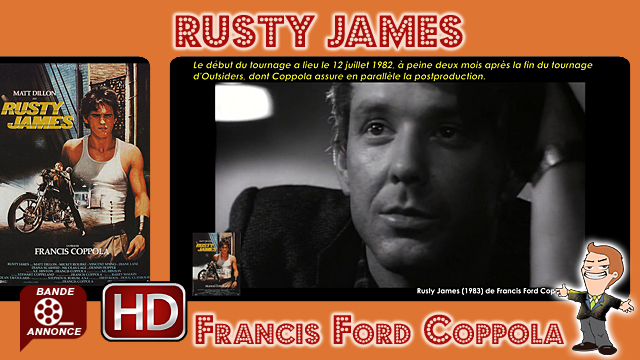 Rusty James de Francis Ford Coppola (1983)