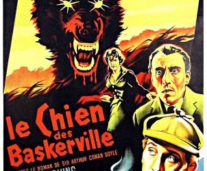 Affiche du film Le Chien des Baskerville de Terence Fisher