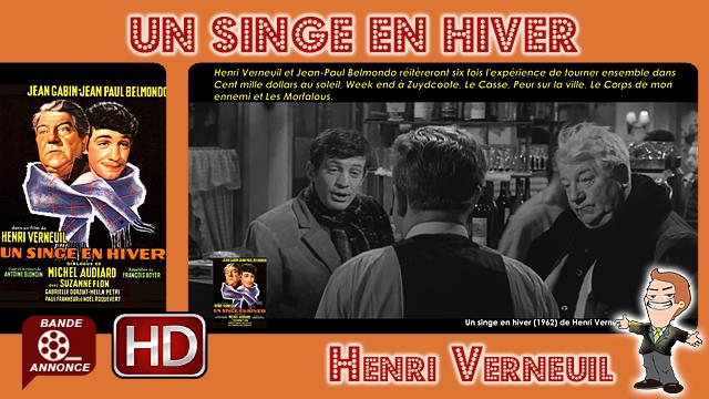 Un singe en hiver de Henri Verneuil (1962)
