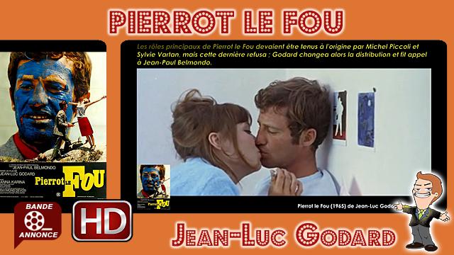Pierrot le Fou de Jean-Luc Godard (1965)