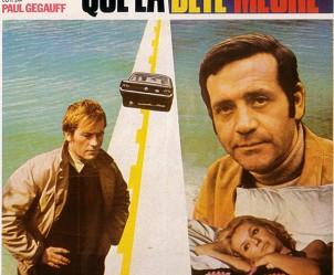 Affiche du film Que la bête meure de Claude Chabrol