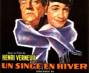 Affiche du film Un singe en hiver de Henri Verneuil