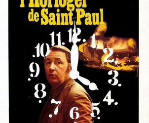 Affiche du film L'Horloger de Saint-Paul de Bertrand Tavernier
