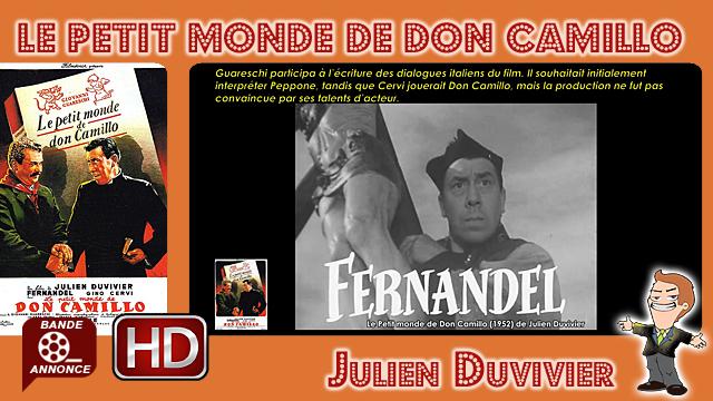 Le Petit monde de Don Camillo de Julien Duvivier (1952)