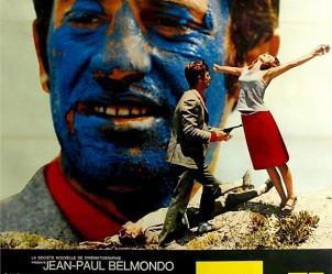 Affiche du film Pierrot le Fou de Jean-Luc Godard