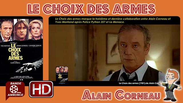 Le Choix des armes de Alain Corneau (1981)