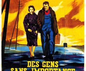 Affiche du film Des gens sans importance de Henri Verneuil