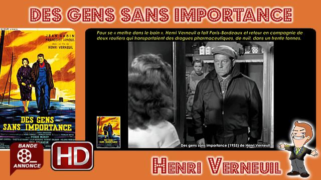Des gens sans importance de Henri Verneuil (1955)