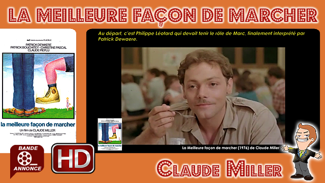 La Meilleure façon de marcher de Claude Miller (1976)