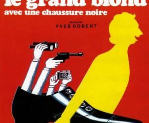 Affiche du film Le Grand Blond avec une chaussure noire de Yves Robert