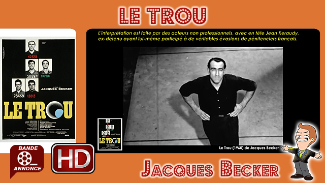 Le Trou de Jacques Becker (1960)