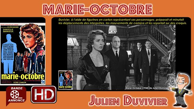 Marie-Octobre de Julien Duvivier (1958)
