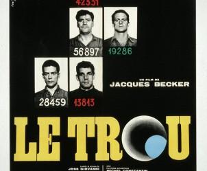 Affiche du film Le Trou de Jacques Becker