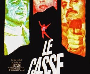Affiche du film Le casse de Henri Verneuil