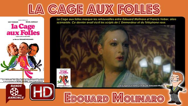 La Cage aux folles de Edouard Molinaro (1978)