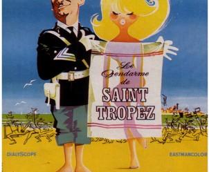 Affiche du film Le Gendarme de Saint-Tropez de Jean Girault