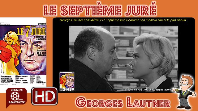 Le Septième Juré de Georges Lautner (1961)
