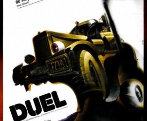Affiche du film Duel de Steven Spielberg