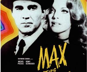Affiche du film Max et les Ferrailleurs de Claude Sautet