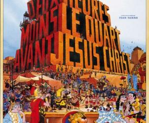 Affiche du film Deux heures moins le quart avant Jésus-Christ de Jean Yanne