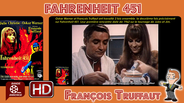 Fahrenheit 451 de François Truffaut (1966)