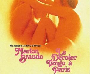 Affiche du film Le Dernier Tango à Paris de Bernardo Bertolucci