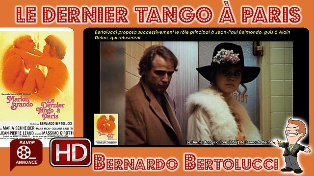 Le Dernier Tango à Paris de Bernardo Bertolucci (1972)