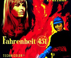 Affiche du film Fahrenheit 451 de François Truffaut
