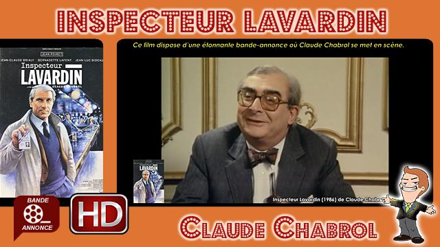 Inspecteur Lavardin de Claude Chabrol (1986)